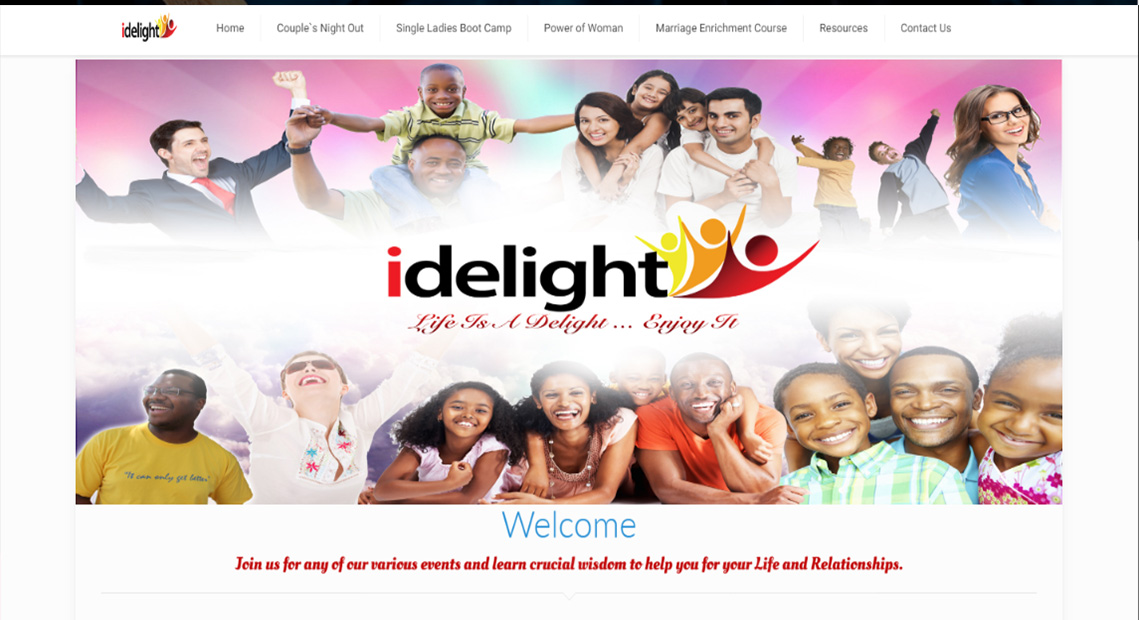 Idelight Website